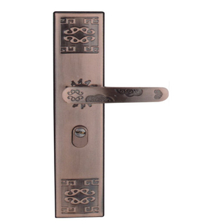LSO5 Decorative Good Quality Plate Door Handle