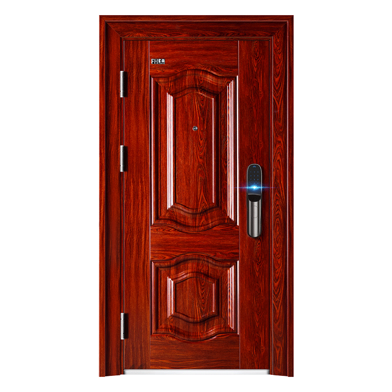 Popular Exterior Front Door Steel Security Door