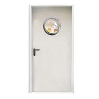 FPL-H5009 Single Leaves Fire Rated Steel Door with Vision Panel