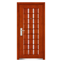 FPL-1015 Turkey Armored Classic Red Door Steel Security Door