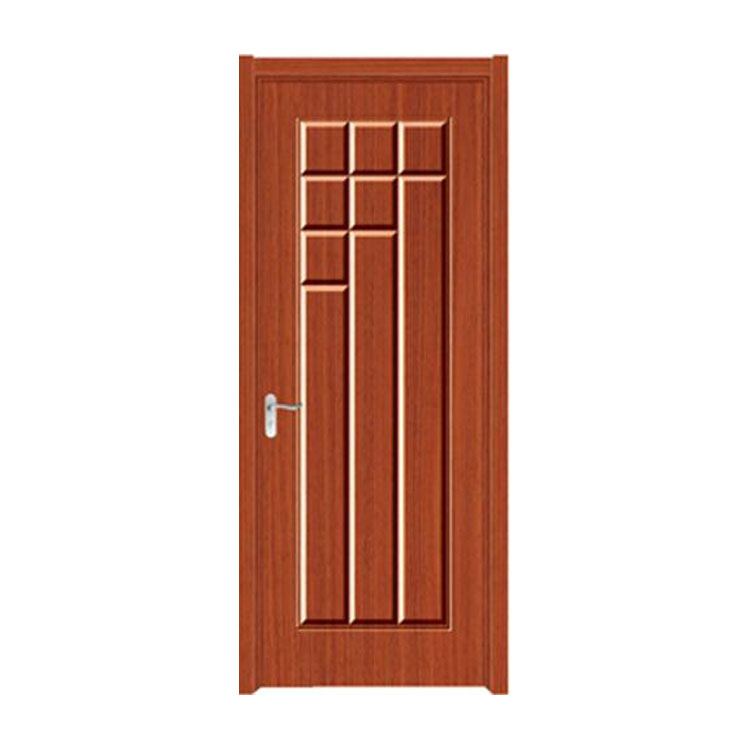 FPL-4008 Modern House Decorative Plan Bathroom PVC Wooden Door