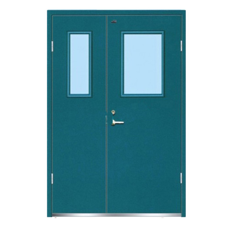 FPL-H5001 Inactive Double Leaf Custom Stainless Steel Fire Rated Door