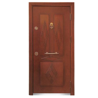 FPL-1009 Bullet Proof Claasic Red Design Armored Door