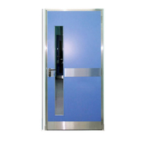FPL-H5008 Hot Design Wrought Iron Fire Rated Steel Door