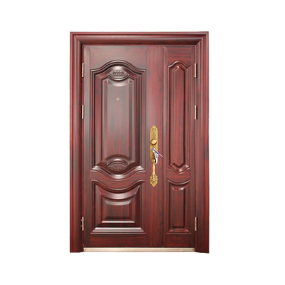 Double Leaf Waterproof Design Entrance Security Door for Decoration Homes