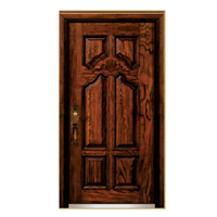 FPL-Z7022 Good Quality Armored Metal Entrance Door