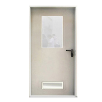 FPL-H5004 3 Hours Rated Fire Resistance Time Door Single Leaf Steel Fire Door