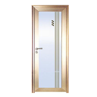 FPL-7009 Latest Design House Used Aluminum Bathroom Door