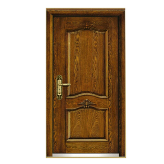 FPL-Z7024 Natural Wood Skin Armored Entrance Door