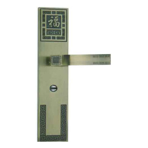 LSO4 Chinese Good Luck Plate Door Handle