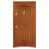 FPL-1010 Bullet Proof Claasic Red Design Armored Door