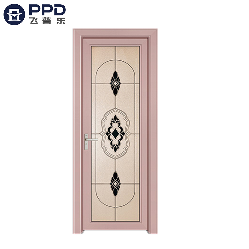 FPL-7010 Factory Direct Fiberglass Modern Bathroom Aluminum Alloy Door