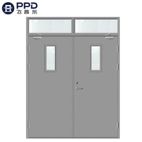 FPL-H5018 Double Leaf Locked Bullet Proof Fire Rated Blast Doors