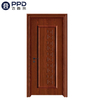 PHIPULO Classic Red Rustic Interior WPC Wooden Door